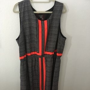 Vince Camuto Maxi Dress–Plus Size